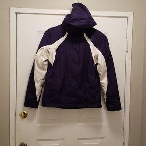 Columbia Interchange Omni-Shield jacket. With hood